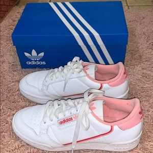 Adidas Pink Continental 80 W Shoes